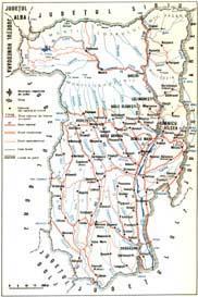 Harta Mănăstirea Bistrița Valcea